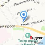 Управление Федеральной антимонопольной службы по Чувашской Республике на карте Чебоксар