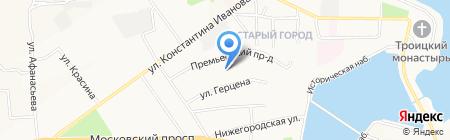 Арбитражный управляющий Колсанов И.А. на карте Чебоксар