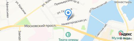 Автодорсервис на карте Чебоксар