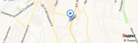 Банкомат АКБ Пробизнесбанк на карте Чебоксар