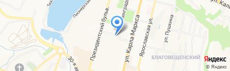 Диском Групп на карте Чебоксар