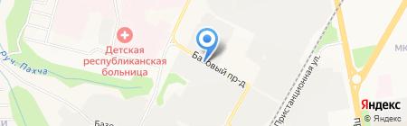 СпецТехАвто на карте Чебоксар