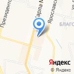 КБ Объединенный банк Республики на карте Чебоксар