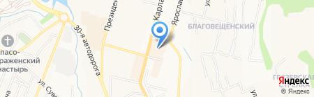 Банкомат АКБ Авангард на карте Чебоксар
