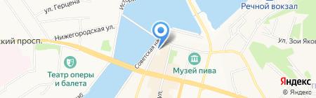 Общее дело на карте Чебоксар