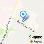 Чебоксарский автоцентр КАМАЗ на карте Чебоксар