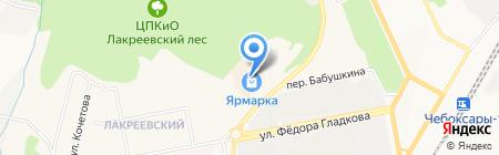 ЭкономСтрой на карте Чебоксар