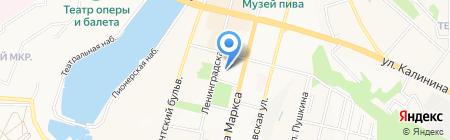 Государственная ветеринарная служба Чувашской Республики на карте Чебоксар