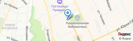 iStore21.ru на карте Чебоксар