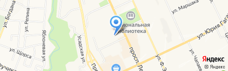 Зодчий на карте Чебоксар