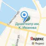 Творческий город на карте Чебоксар