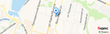 Общественная приемная депутата Государственной Думы РФ Кузина В.М. на карте Чебоксар