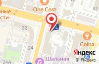 Схема проезда до компании Антей Сервис в Чебоксарах