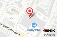Схема проезда до компании Промтек в Чебоксарах