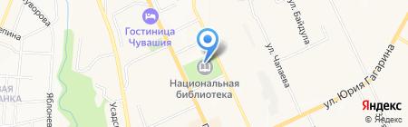 Серебряный век на карте Чебоксар