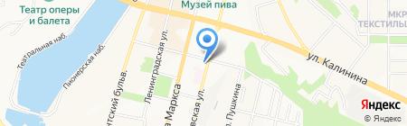 Общежитие на карте Чебоксар
