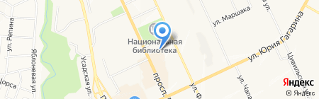 Мирра на карте Чебоксар