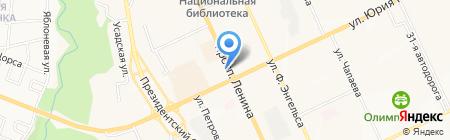 Бережная аптека на карте Чебоксар