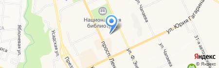 Студия Аделины Жумалиевой на карте Чебоксар