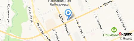 Элита на карте Чебоксар