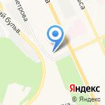 Средняя общеобразовательная школа №10 им. летчика-космонавта А.Г. Николаева на карте Чебоксар