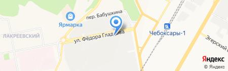 Парикмахерская на карте Чебоксар