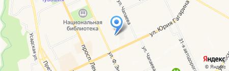 Солнечный город на карте Чебоксар