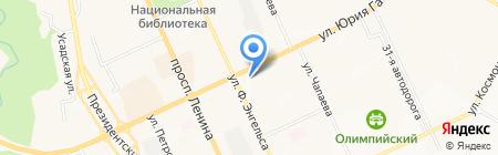 Нива на карте Чебоксар