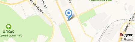 Ларец на карте Чебоксар