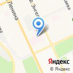 Центральная городская больница на карте Чебоксар