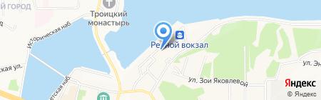 Дортранс на карте Чебоксар