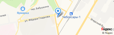 Ваш доктор на карте Чебоксар