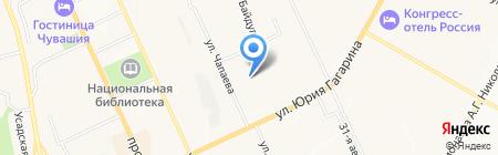 Ростехнадзор Приволжское Управление Федеральной службы по экологическому на карте Чебоксар