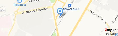 АЛКОМ на карте Чебоксар