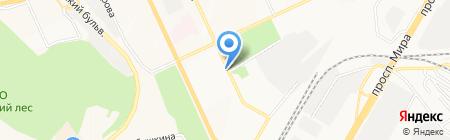 Репа на карте Чебоксар