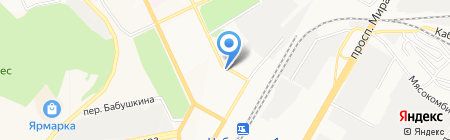 Мясная лавка на карте Чебоксар