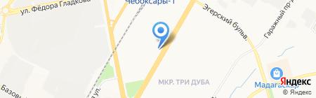 Сфера-Сервис на карте Чебоксар