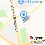 МРСК Волги-Чувашэнерго на карте Чебоксар