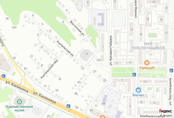 жилой комплекс ул. Гайдара, позиция 57