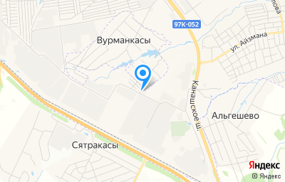 Местоположение на карте пункта техосмотра по адресу г Чебоксары, проезд Лапсарский, д 4