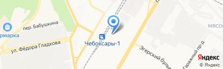 Master-Express на карте Чебоксар