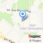 Средняя общеобразовательная школа №11 на карте Чебоксар