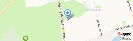 Рафэл на карте Чебоксар
