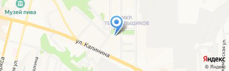 Промнефть на карте Чебоксар