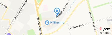 Чувашохотрыболовсоюз на карте Чебоксар