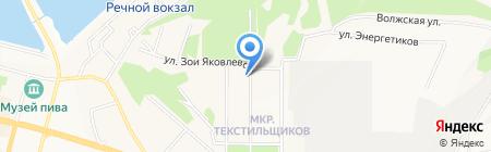 Таймен-5 на карте Чебоксар