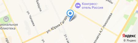 Магазин автокрасок на карте Чебоксар