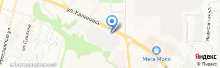 Буксиръ на карте Чебоксар