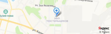 Центральная городская библиотека им. Маяковского на карте Чебоксар
