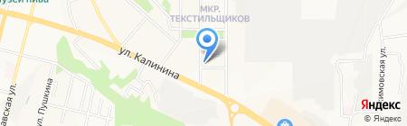 Крылья на карте Чебоксар